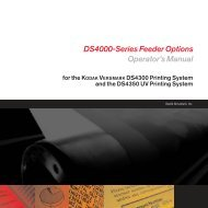DS4000-Series Feeder Options Operator's Manual - Kodak