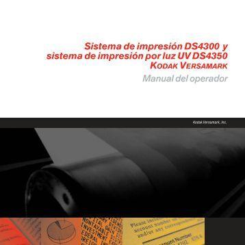 Sistema de impresión DS4300 y sistema de impresión por ... - Kodak