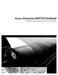 KODAK VERSAMARK DH7122 Printhead