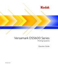 Versamark DS5600 Series - Kodak