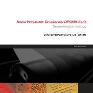 KODAK VERSAMARK Drucker der DP5000-Serie ...