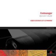 Fontmanager - Kodak