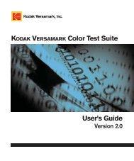 color test suite.book - Kodak