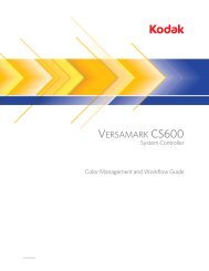 Chapter 1. Color Management Background - Kodak