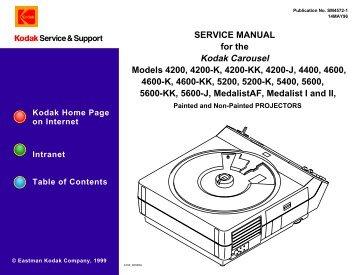 service manual for the kodak carousel slide projectors rh yumpu com