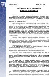 PS schválila zákon o úrazovém pojištění zaměstnanců - Ministerstvo ...