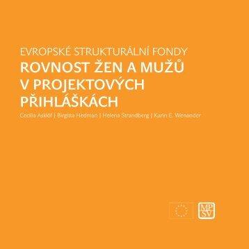 rovnost žen a mužů v projektových přihláškách - Ministerstvo práce ...