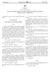 Zákon č. 364/2011 Sb. - Ministerstvo práce a sociálních věcí