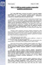 Od 1. 1. 2008 se změní systém úrazového pojištění zaměstnanců