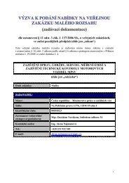 dle ustanovení § 12 odst. 3 zák. č. 137/2006 Sb., o veřejných ...