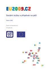 Sociální služby a příspěvek na péči - Ministerstvo práce a sociálních ...