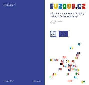 Informace o systému podpory rodiny v České republice