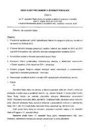 rada vlády pro seniory a stárnutí populace - Ministerstvo práce a ...