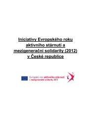 Iniciativy Evropského roku aktivního stárnutí a mezigenerační solidarity