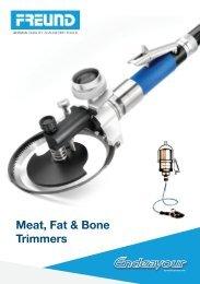 Meat, Fat & Bone Trimmers - FREUND
