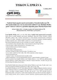 Medek2011-tisková zpráva - Národní knihovna ČR
