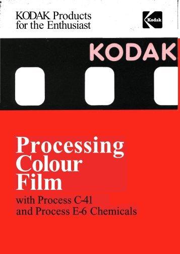 Processing Colour Film, July82.pdf - Photographic Memorabilia