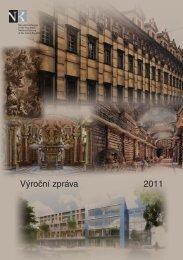 Výroční zpráva 2011 - Národní knihovna ČR