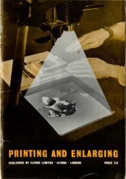 Printing and Enlarging - Photographic Memorabilia