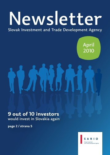 April 2010 9 out of 10 investors - Sario