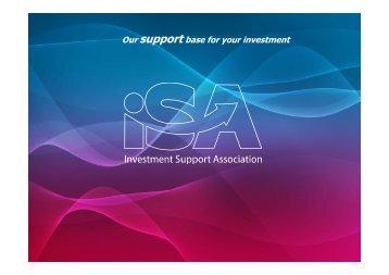 Presentation ISA (pdf, 1820kB) - Sario