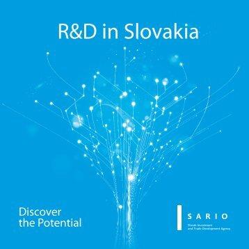 R&D in Slovakia - Sario