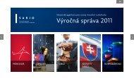 Výročná správa 2011 - Sario