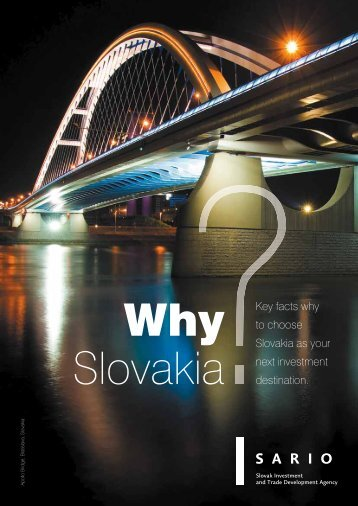 Key facts why to choose Slovakia as your next investment ... - Sario