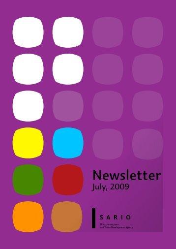 Newsletter - Sario