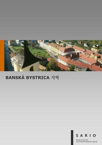 BANSKÁ BYSTRICA 지역 - Sario
