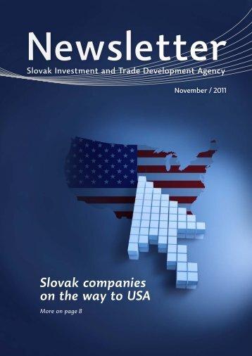 Slovak companies on the way to USA - Sario