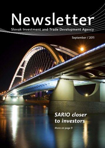 SARIO closer to investors