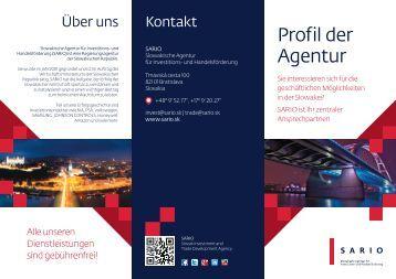 Profil der Agentur - Sario