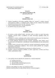 1 MINISTERSTVO HOSPODÁRSTVA Č.: 152/2010-1000 ... - Sario