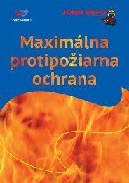 Informačná brožúra! - JOMA SEPO spol. s ro
