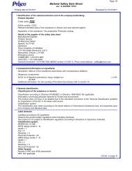 Material Safety Data Sheet - Spicers Canada