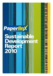 Sustainable Development Report 2010 - Spicers Canada