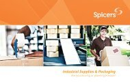 Movers Brochure - Spicers Canada