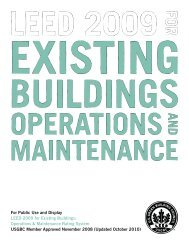 Existing Buildings Operations and Maintenance.
