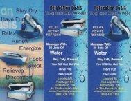 Relaxation Oasis Brochure Gatlinburg (865) 430-3110 - The Great ...