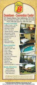 Super 8 Downtown Gatlinburg Brochure (866) 436-2228 - The Great ... - Page 2