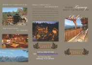 Gatlinburg Falls Resort Gatlinburg TN Brochure (866) 972-2246