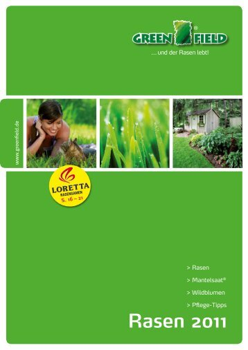 Rasen 2011 - Feldsaaten Freudenberger GmbH & Co. KG