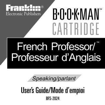 BFS-2024 French - Franklin Electronic Publishers