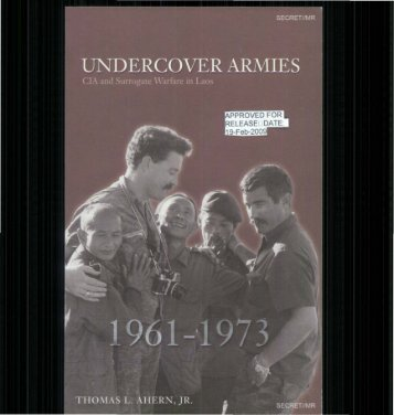 Undercover Armies - CIA FOIA - Central Intelligence Agency