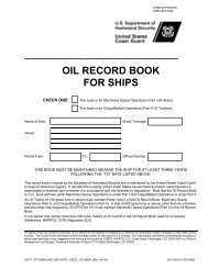 new oil record book - SNAME.org