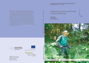 Jättiputki ja kurtturuusu kuriin Lounais-Suomessa - Rauma
