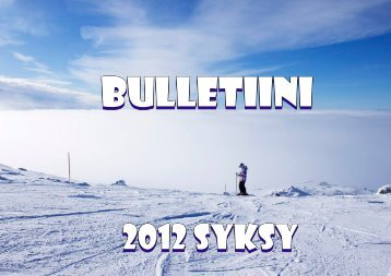 Bulletiini 2012.indd - Rauma