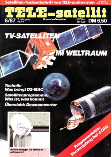 Liebe Leser - TELE-satellite International Magazine