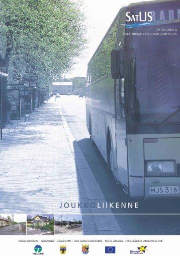 Satakunnan liikennejärjestelmäsuunnitelma - Rauma